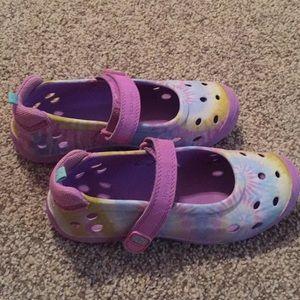Girls Stride Rite sandals.